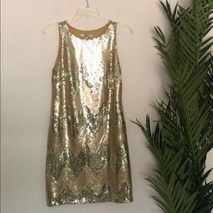 BB Dakota Sequin Shift Dress
